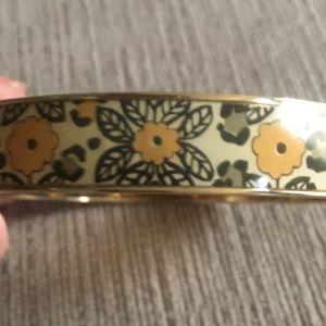 Vera Bradley Floral Pattern Bangle Bracelet